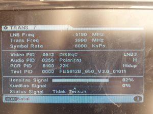 Panduan Cara Mendapatkan Satelite Telkom 3S – LGSAT Parabola
