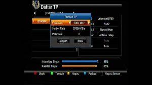 Cara Tambah Transporder menggunakan Receiver LGSAT STARS HD 101
